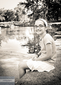 Emily By the Water bw-