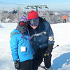 "Chris, Natalie and I enjoyed perfect skiing conditions at Hidden Valley in early January.  It was our first ""three generations"" skiing trip."