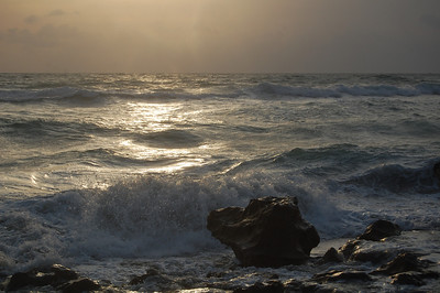 Taken on a windy morning, the sea was very alive and expressive.