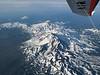 A bird's eye view of the central Cascade Mountains.