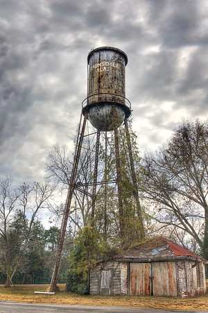 Faunsdale, Alabama water tank