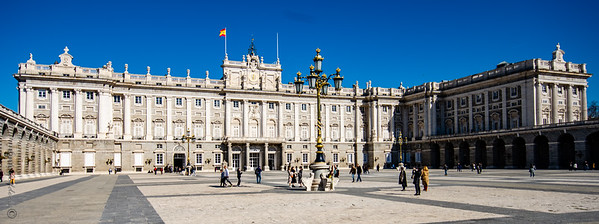 Het Koninklijk Paleis van Madrid