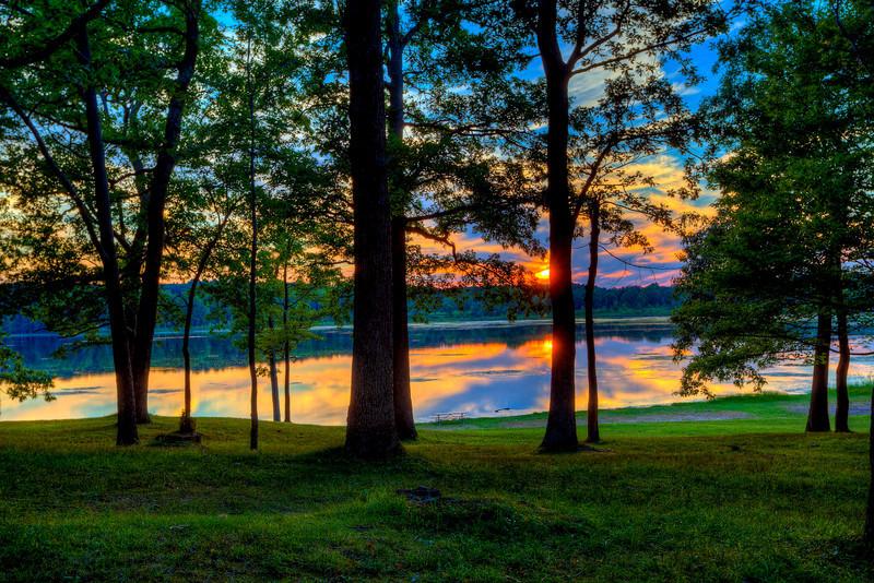 Mendon Ponds Park Sunset