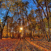 Mendon Ponds Fall sunset