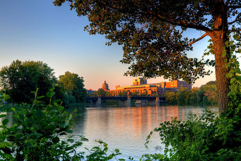 University of Rochester Sunset