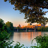 University of Rochester Sunset