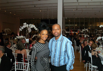 (L) to (R) Actress Victoria Rowell and Celebrity Event Photographer, Ben Evans
