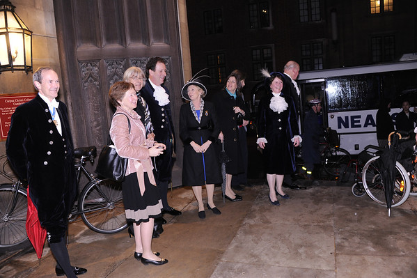 High Sheriffs' Visit to the Parker Library 7.3.13