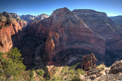 Top of Angel's Landing, Zion National Park