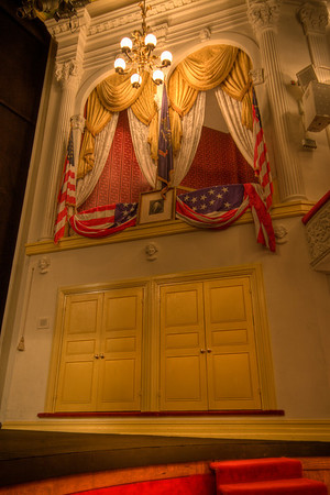 Ford's Theater, Washington D.C. Box where Lincoln was assassinated