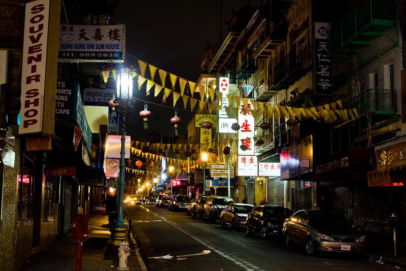 Chinatown - San Francisco CA