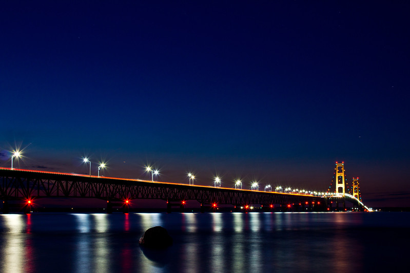 Mackinac Bridge - Mackinaw City MI
