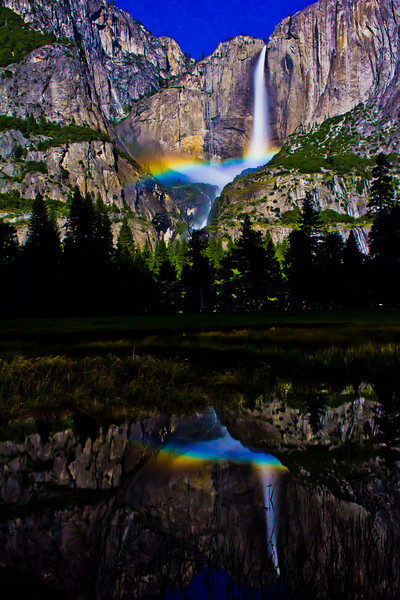 Moonbow - Yosemite National Park CA