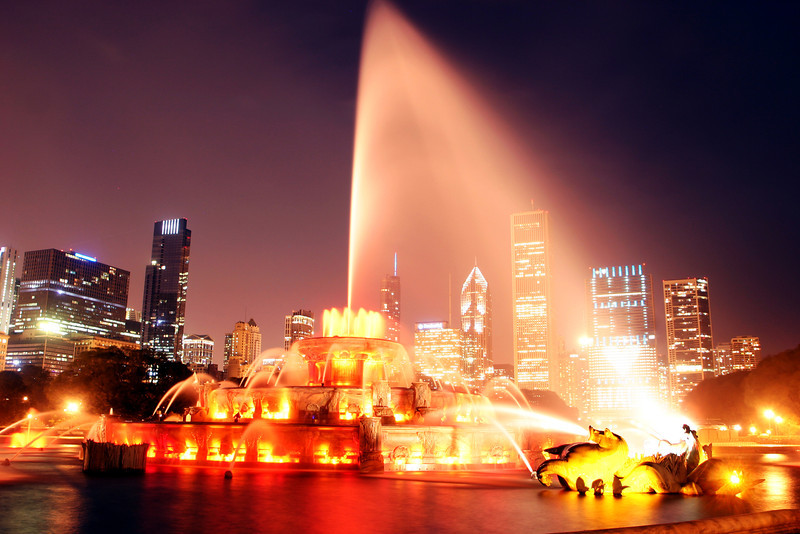 Buckingham Fountain - Chicago IL