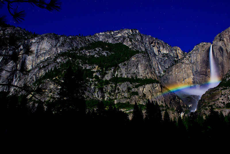 Moonbow - Yosemite National Park