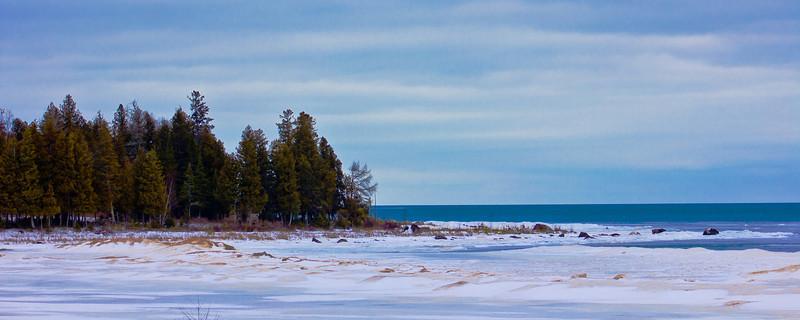 Highway 2 - Lake Michigan - U.P. MI
