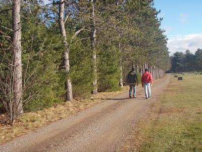 Hiking Dec 13, 2008