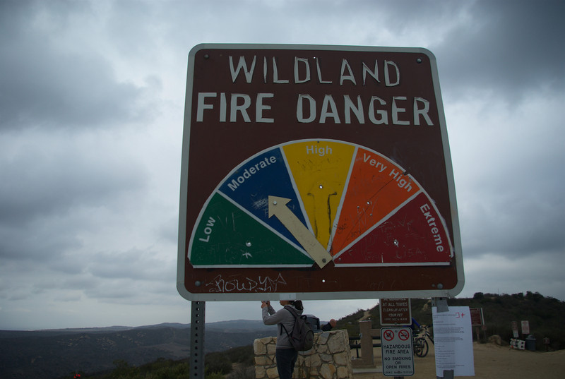 No chance of getting caught in blazing wildfires!