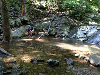 2012 05-26 White Oak Canyon Falls
