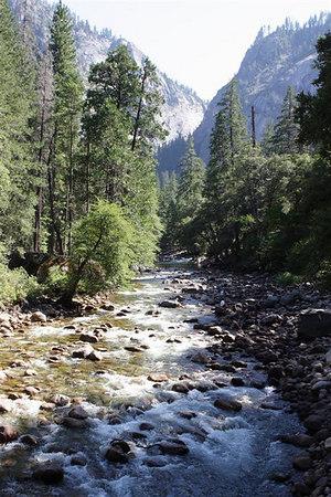 Half Dome, Yosemite, August 2006