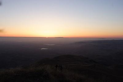 Mission Peak, Sunset, 07-04-05