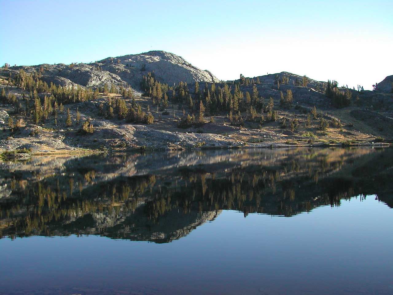 Morning: Thousand Island Lake 09-2002