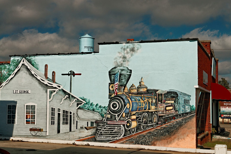 Mural, Downtown St. George, SC