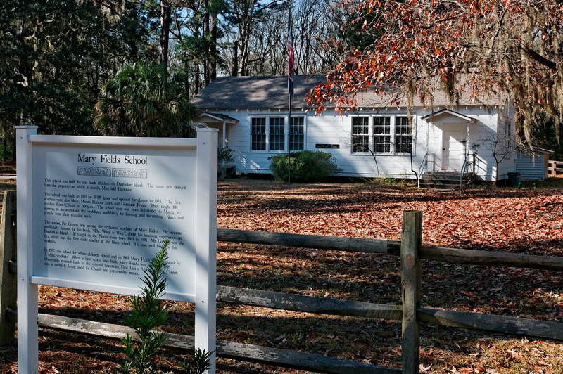 Mary Fields Two-Room School - Where Pat Conroy Taught