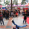 break dancing in hua qiang be