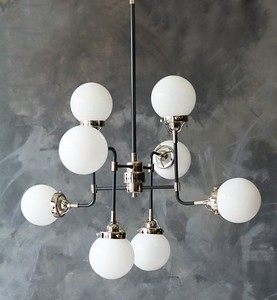 eight orb ceiling pendant from rocket st. george