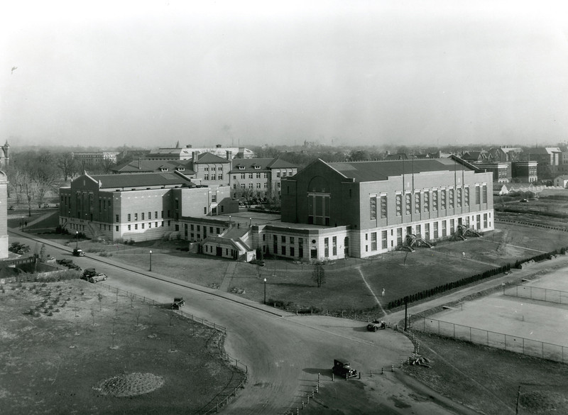 Larkins Hall, 1934