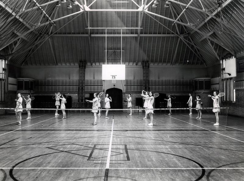 1932, Pemerene Gym, Tennis Class