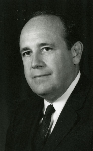 Official photo of Frederic Beekman, 1967