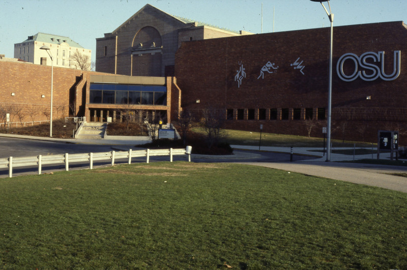 Larkins Hall exterior, 1983