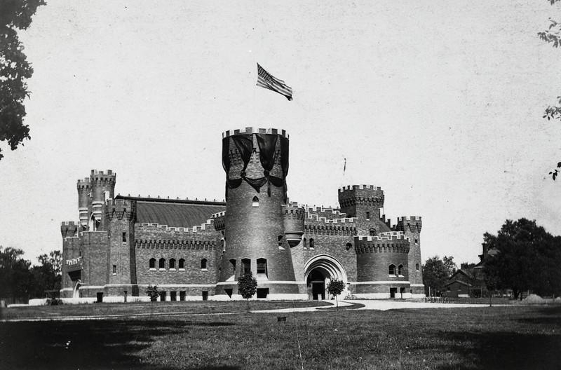 Armory exterior, 1902