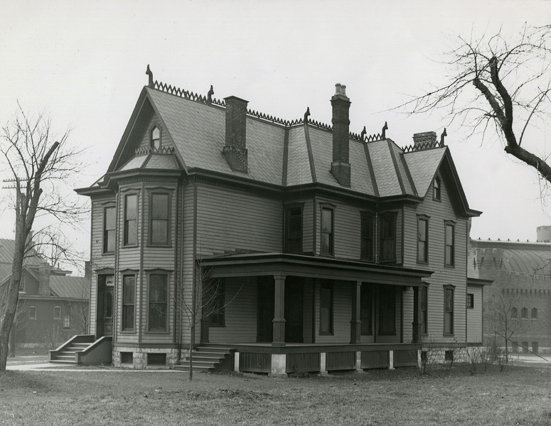Old Athletic House exterior, 1922; X1306
