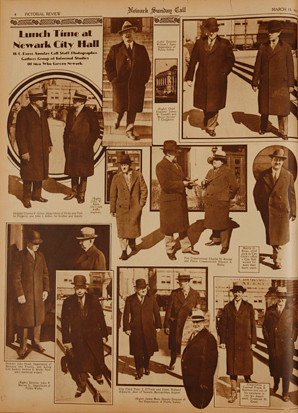 "The Irish ""Men who Govern Newark,"" Newark Sunday Call, March 15, 1931."