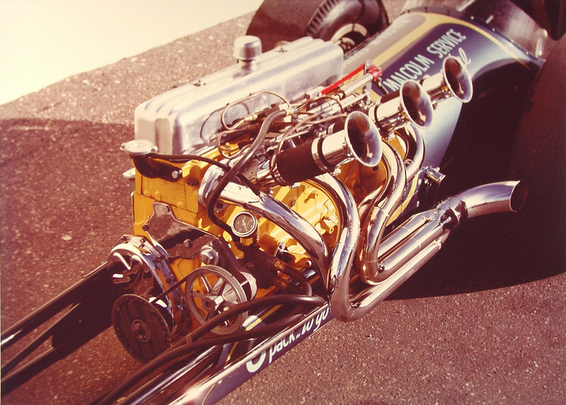 Dave Malcolm's 6 Cyl. Dragster