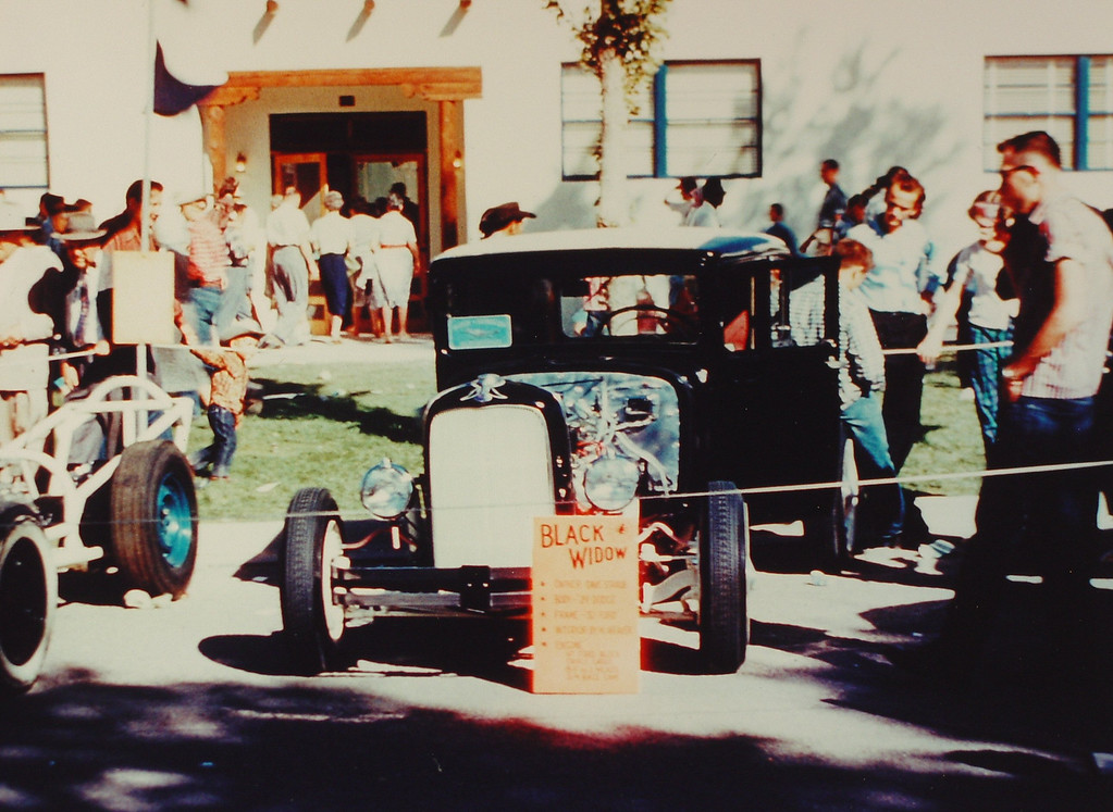 A Car show during the State fair sometime Between 1958-63