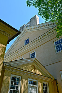 Side view of the Mansion.