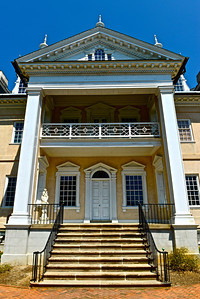 Back entrance to the Mansion
