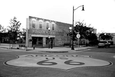 Standin on the Corner, in Winslow Arizona, http://www.standinonthecorner.com/history.htm