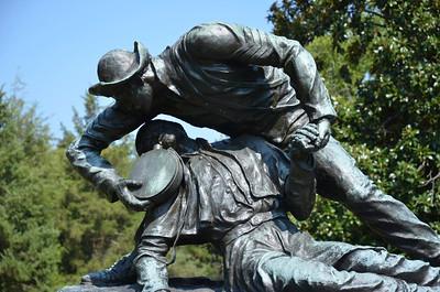 The Angel of Marye's Heights, Fredericksburg Battlefield.