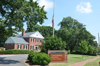 Fredericksburg Battlefield Vistors Center