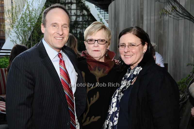 Bill Cunningham, Paula Busch, Elizabeth Henry<br /> photo by Rob Rich © 2010 robwayne1@aol.com 516-676-3939