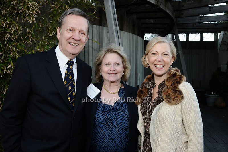 Dennis Stilwell, Marcia Wilson, Linda Stillwell<br /> photo by Rob Rich © 2010 robwayne1@aol.com 516-676-3939
