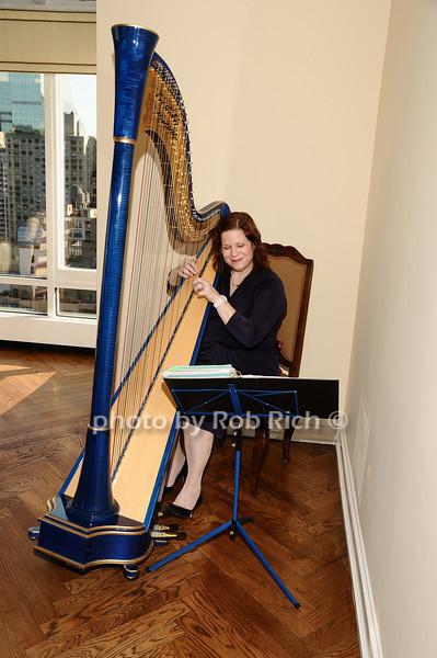 harpist<br /> photo by Rob Rich © 2010 robwayne1@aol.com 516-676-3939