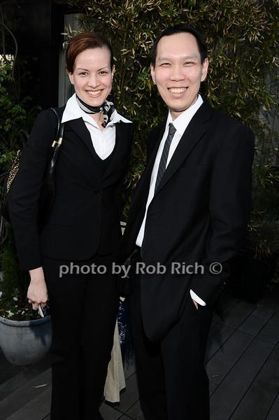 Alexa Tirado, Richard Phan<br /> photo by Rob Rich © 2010 robwayne1@aol.com 516-676-3939