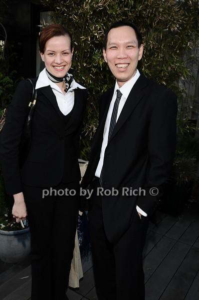 Alexa Tirado, Richard Phan<br /> photo by Rob Rich © 2010 robwayne1@aol.com 516-676-3939