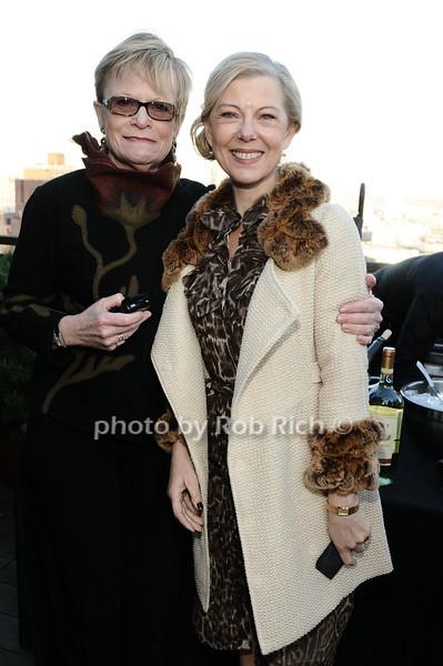 Paula Busch, Linda Stillwell<br /> photo by Rob Rich © 2010 robwayne1@aol.com 516-676-3939